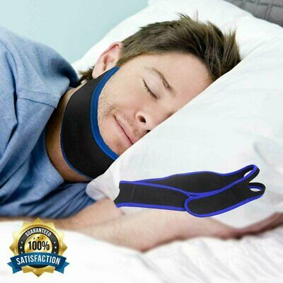 Anti Snore Chin Strap Stop Snoring Sleep Apnea Belt Jaw Support solution Safety Chin Straps