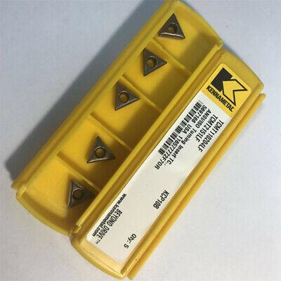 Kennametal Carbird Inserts Tcmt110204lf Kc9110 Tcmt2151lf Box Of 5pcs
