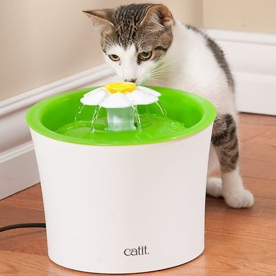 Catit 2.0 Flower Cat Water Drinking Fountain, Free Shipping, New