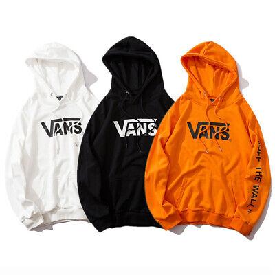 Vans '' OFF THE WALL '' Men's Women's Sweater in Classic Cotton Hoodie