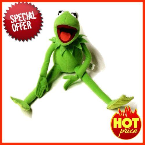 BIG Eden Full Body Kermit the Frog Hand Puppet Memes Plush Toy Jim Henson soft