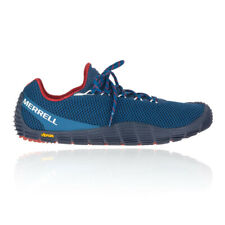 Navy Blue Sports Merrell Mens Move Glove Trail Running Shoes Trainers Sneakers