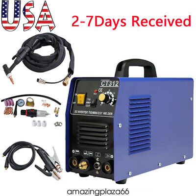 Usa Ct312 Tigmmacut 3-in-1 Air Plasma Cutter Welder Welding Machinetorches Ce