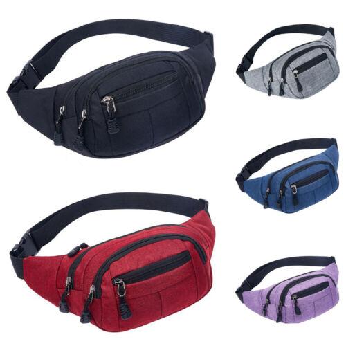 Outdoor Sport Bum Bag Fanny Pack Travel Hiking Waist Money B