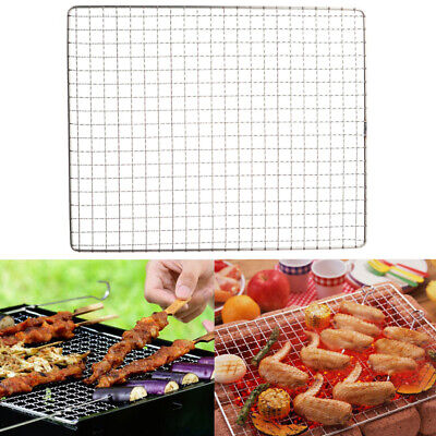 Large Stainless Steel BBQ Grill Grate Grid Wire Mesh Rack Roast Replacement Net