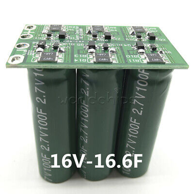12x Double Row 16v-16.6f Farad Capacitor Electrical Component Super Capacitor