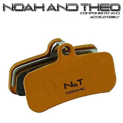 N&t Shimano Deore XT Br M8020 Trp Pizarra T4 Cerámica Pastillas Freno...