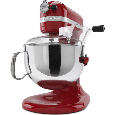 KitchenAid KP26M1XER Pro 600 Series 6-Quart Stand Mixer