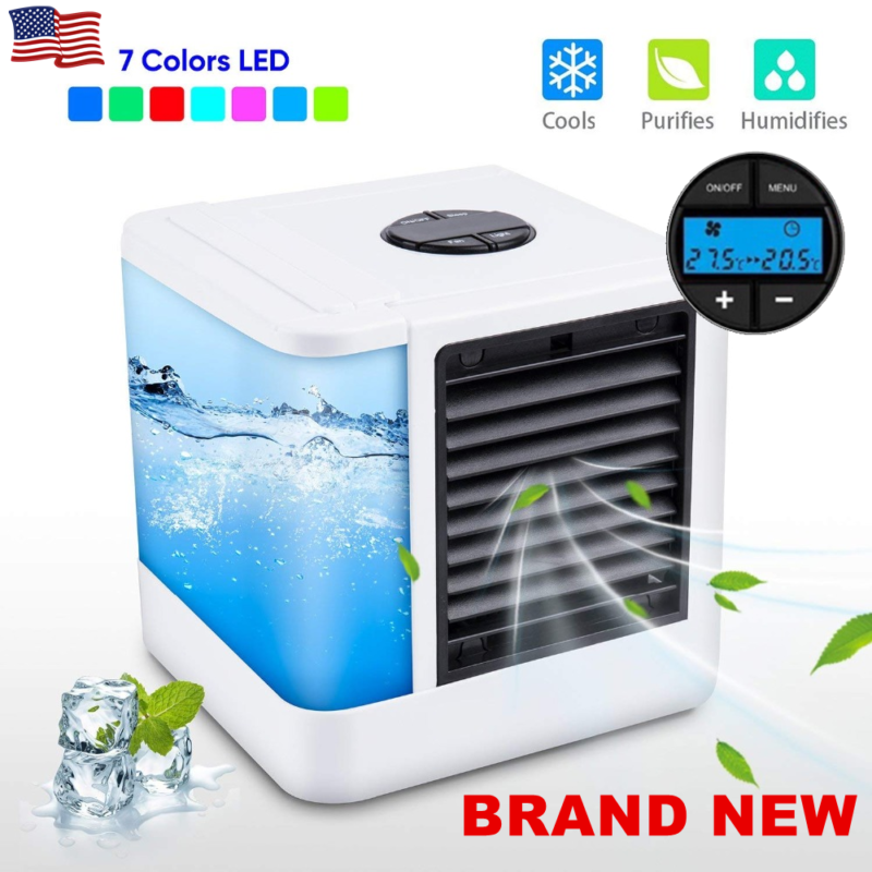 Personal Portable Cooler AC Air Conditioner Fan Purifier Hum