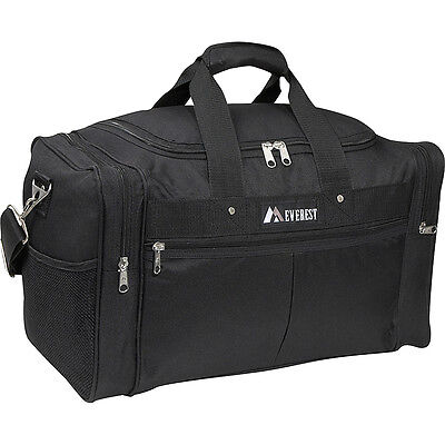 "Everest 30"" XL Travel Gear Bag - Black Travel Duffel NEW"