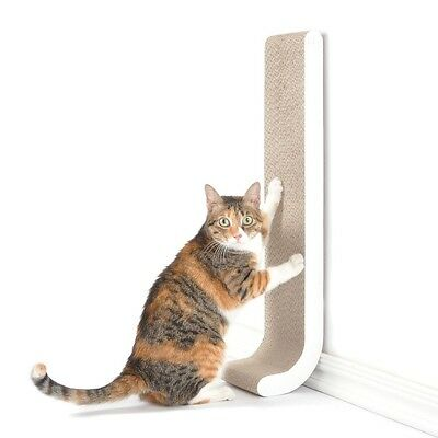 Kitty Wall Scratching Post Cat Scratcher Cardboard Door Frames Furniture Toy 26""