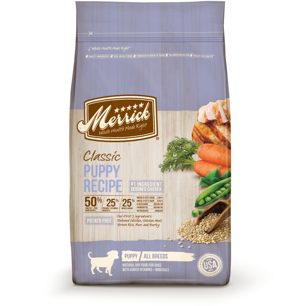Merrick Classic Puppy Recipe Dog Food
