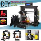 3D CTC Upgraded Full Quality High Precision Reprap Prusa i3 DIY 3d Printer Kit