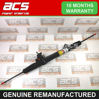 FORD FOCUS POWER STEERING RACK 1.8 16v 1998 TO 2005 - GENUINE RECONDITIONED