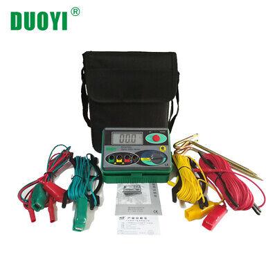 Dy4100 Megohmmeter 0-2000 Ohm Real Digital Earth Tester Ground Resistance Tester