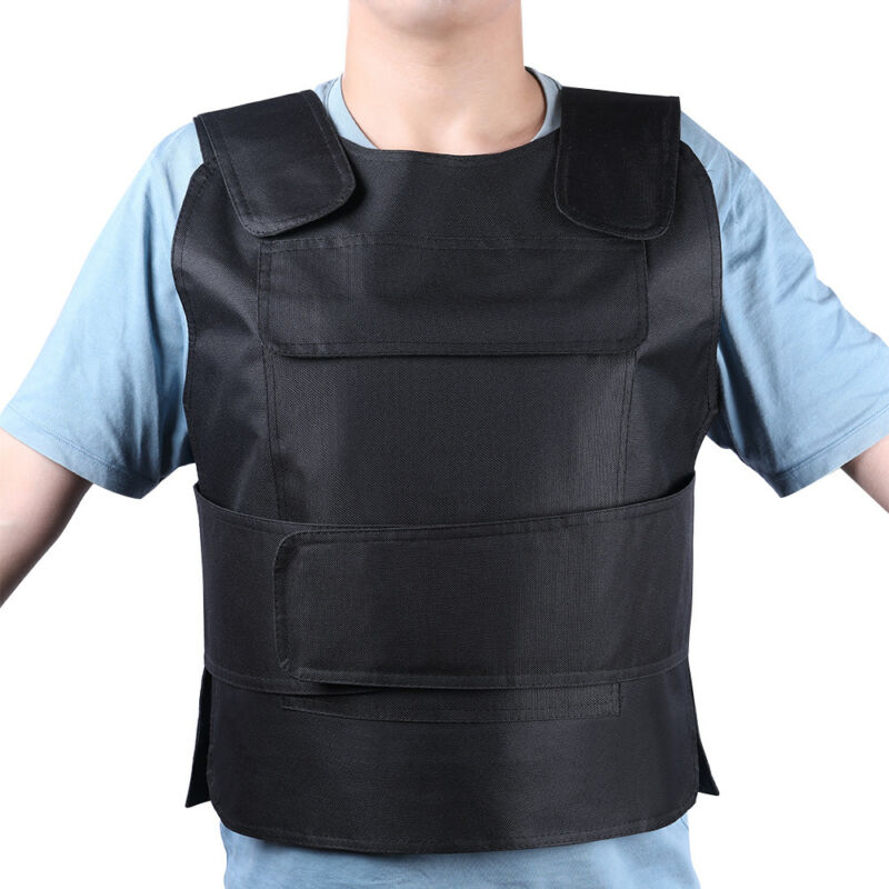 Adjustable Military Lightweight Plate Carrier Tactical Vest Police SWAT Hunting