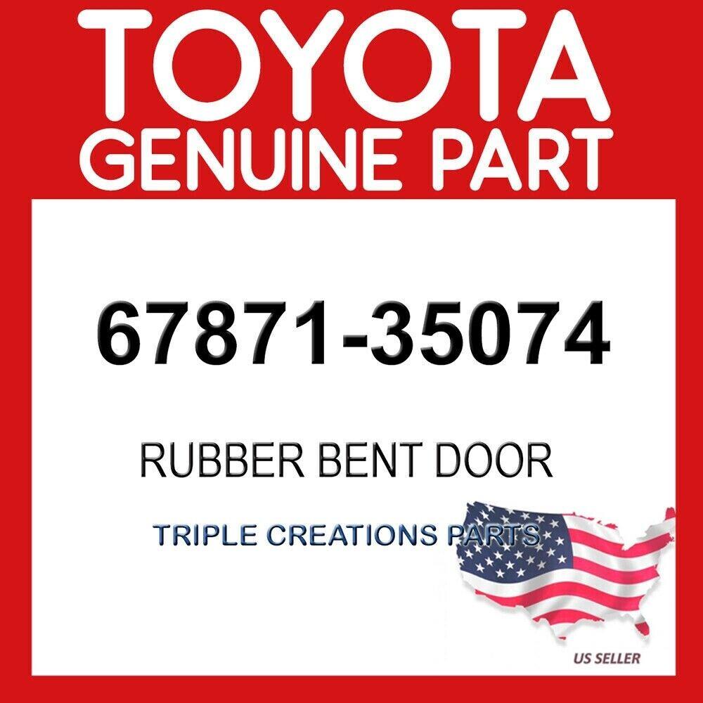 TOYOTA Genuine 67871-35074 Access Panel Weatherstrip