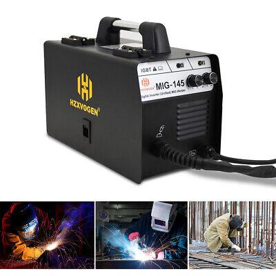 Mini Mig Welder 145a Igbt Inverter Flux Core Wire Gasless Mig Welding Machine
