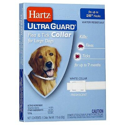 "Hartz Ultraguard Flea - Tick Dog Collar, Large 26"" 1 ea"
