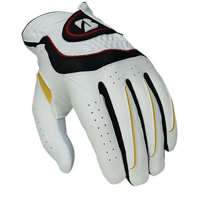 NEW Bridgestone Soft Grip Mens Leather Hybrid Golf Glove-Pick Size,Hand,Quantity