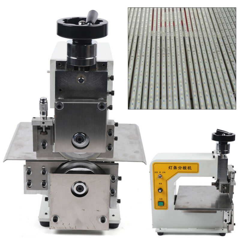 V Cut Groove PCB Separating Separator Cutting Light Bar Sub Board Machine 110V