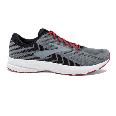 Brooks Mens Launch 6 Running Shoes Trainers Sneakers Grey Sports Breathable