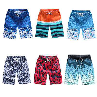 US Men's Surfing Board Shorts Beach Swim Wear Pants Gym Sports Trunk Shorts (Mens Sports Wears)