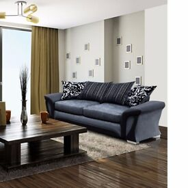 UNIQUE SET Shannon Corner Sofa / 3+2 Seater Sofa-- High Quality -- Same Day Delivery -- Order Now