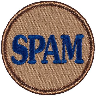 Funny Boy Scout Patrol Patch! - #656 The SPAM Patrol!