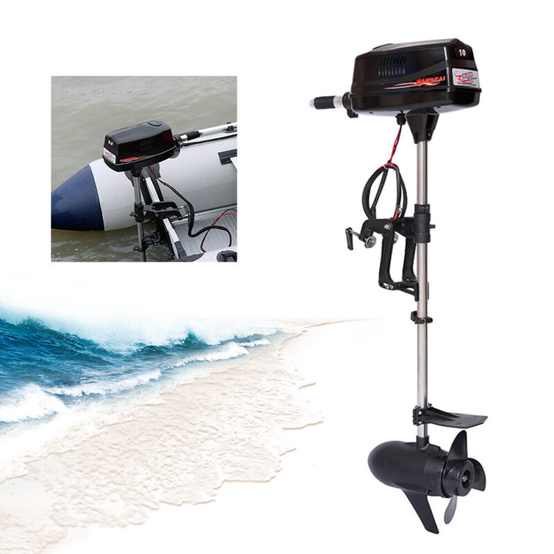 Electric Outboard Brushless Motor Fishing Boat Engine Tiller Control 2200KW USA