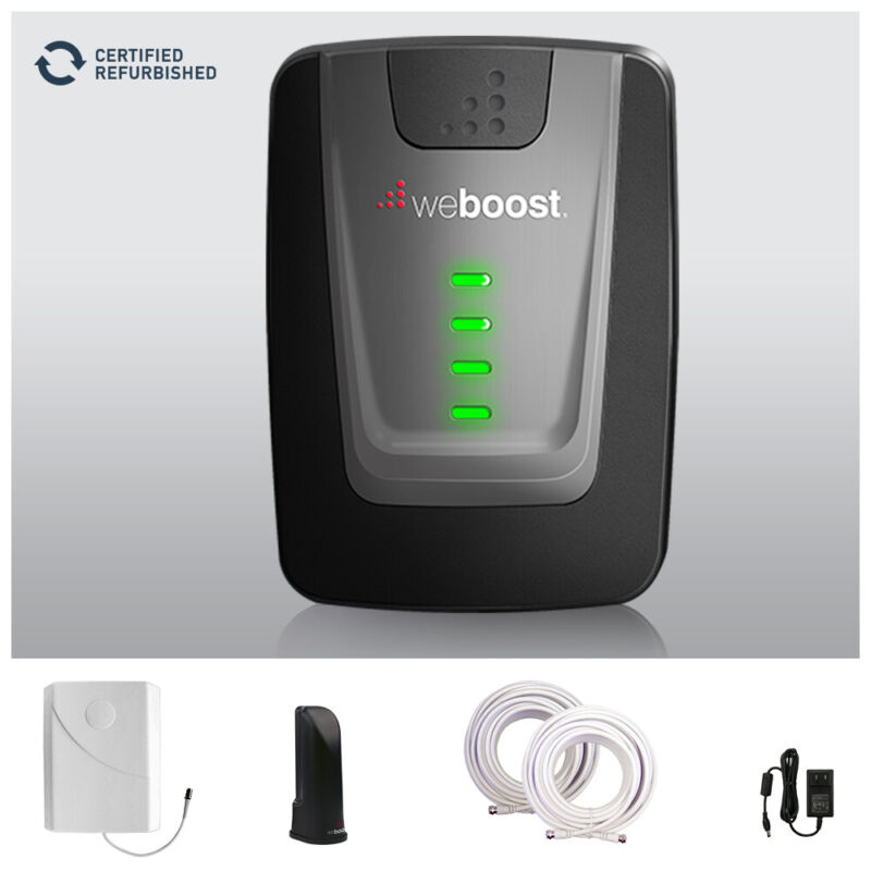 REFURBISHED weBoost Home 4G Cell Phone Signal Booster up to 1500 sq ft - 470101R