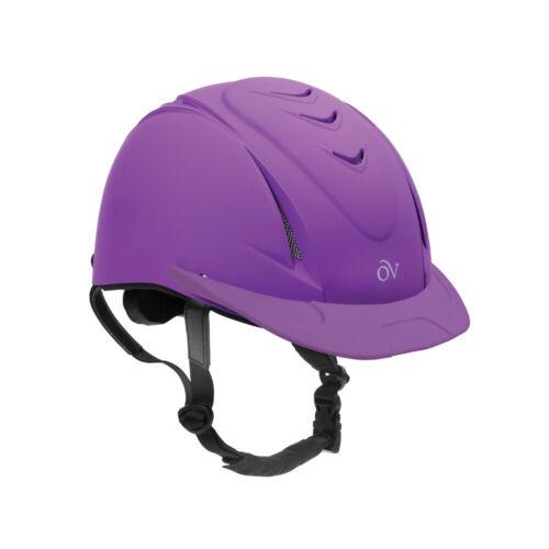 Ovation Deluxe Schooler Riding Helmet, Purple, Small/Medium