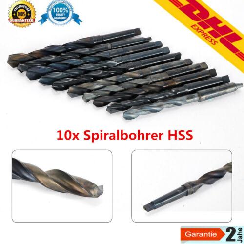 1 Spiralbohrer Bohrer 18mm HSS MK 2  Aufnahme NEU