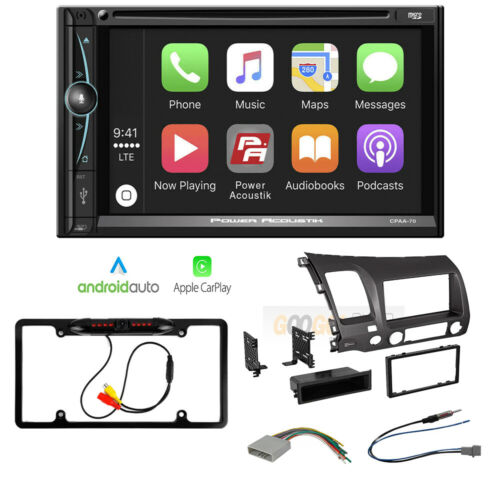 7-Inch DVD Car Stereo Radio Receiver with Apple Car-Play for 2006-11 Honda Civic