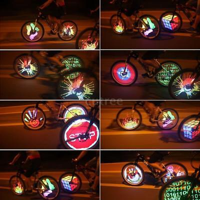 128 LED Changes Motorcycle Cycling Bicycle Bike Wheel Signal Tire Spoke Light