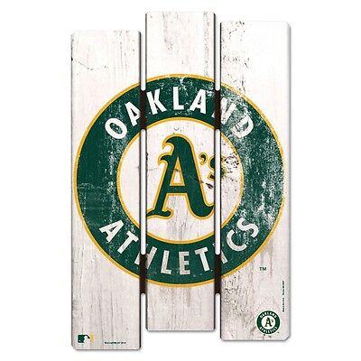 Oakland Athletics Wood Sign - OAKLAND ATHLETICS FENCE WOOD SIGN 11