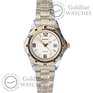 Sekonda Ladies Womens Two Tone Twilight Bracelet Watch 4415 RRP £49.99