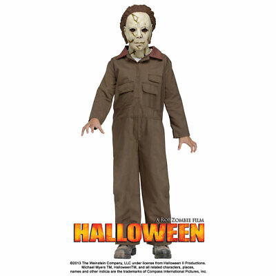 Michael Myers Costume Child (Child Halloween Deluxe Michael Myers)