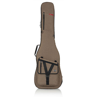 Gator Cases Transit Bass Guitar Water Resistant Padded Protective Gig Bag Tan