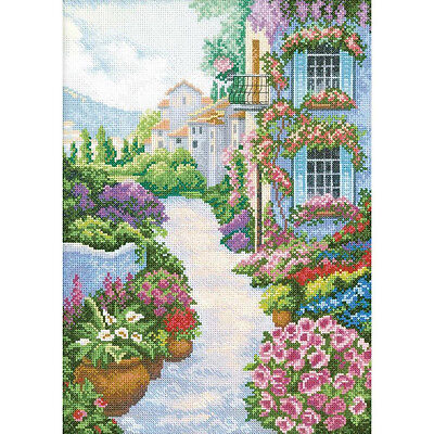 Rto Cross Stitch Kit    Blooming Town
