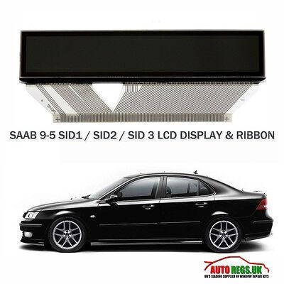 SAAB 9-5 95 LCD DISPLAY SID 1 SID 2 SID 3 SAAB INFORMATION DISPLAY COMPUTER NEW