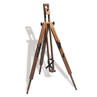 Reeves The Dorset Wooden Easel Tripod Artists Field Easel