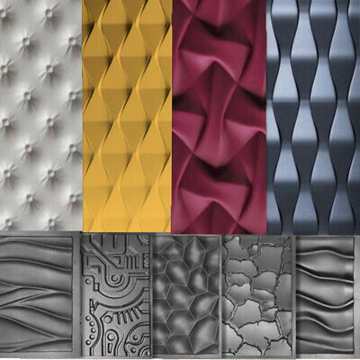 *EAST* 3D Decorative Wall Stone Panels.Form Plastic mould for Plaster Gypsum