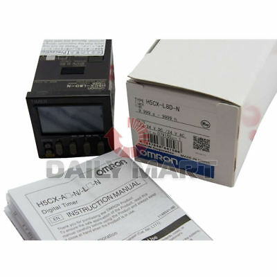 New Omron Multifunction Digital Timer 8 Pin 1224vacdc H5cxl8dn