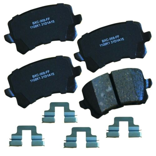 Disc Brake Pad Set-Stop Ceramic Brake Pad Rear Bendix SBC1451