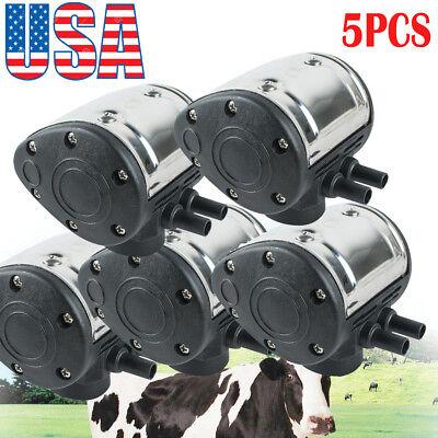 Usa5pcs L80 Pneumatic Pulsator For Cow Milker Milking Machine Cattle Dairy Fda