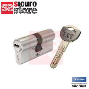 Cilindro europeo di alta sicurezza a chiave protetta tesa - Cilindro europeo cisa 5 chiavi ...