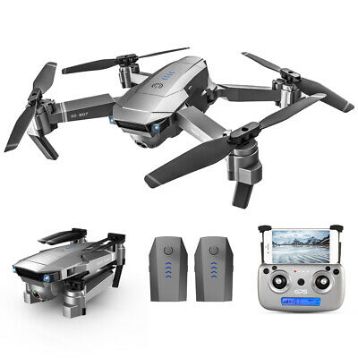 SG907 GPS With 4K HD Dual Camera 5G Wifi FPV Drone Quadcopter 2 Batteries L6P6