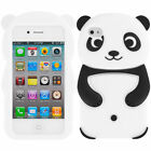 Silicone/Gel/Rubber Cell Phone Cases & Covers for iPhone 4