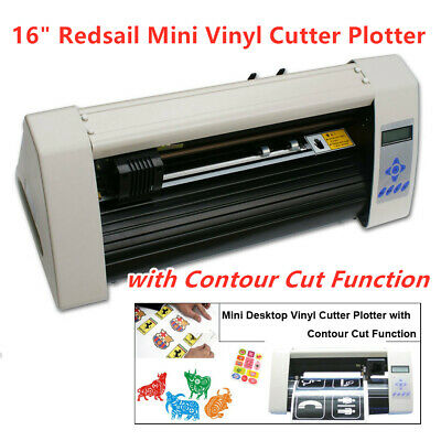 16 Redsail Mini Vinyl Cutter Plotter With Contour Cut Function High Qulity